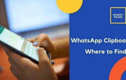 whatsapp clipboard