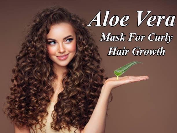Overnight Aloe Vera Mask For Curly Hair Growth Benefits for Men & Women