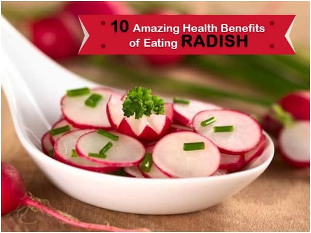 10 benefits of eating raw radish and radish juice