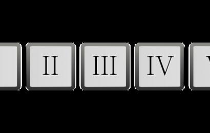 Concept of Roman Numerals
